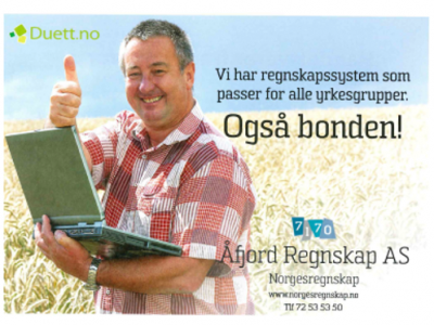 Landbruksregnskap på nett